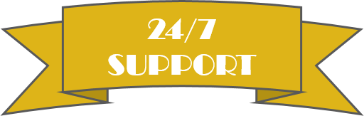 24-7 Support